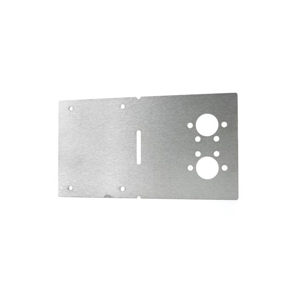 Plaque de fixation 2D/4D 25 x 13,6 cm AT0025